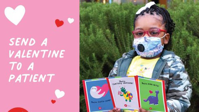 Show some love to the patients at Children's of Alabama this Valentine's Day by sending a free...