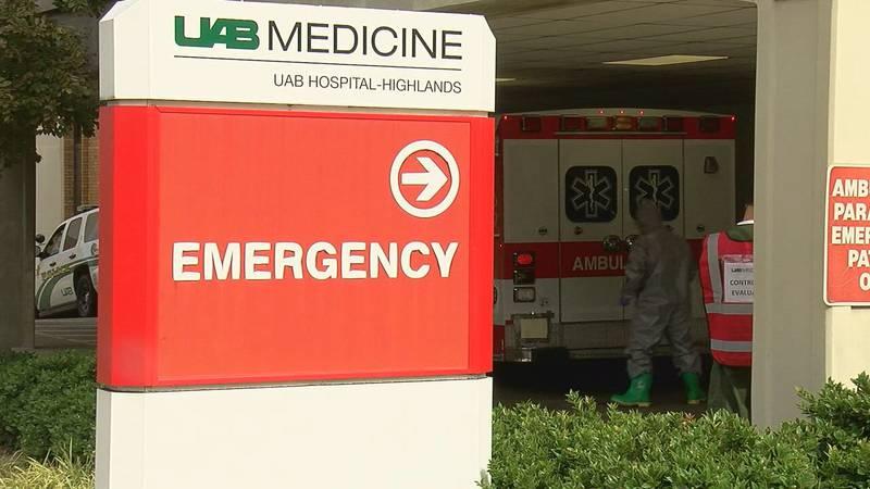 UAB Hospital - Highlands Emergency Room entrance