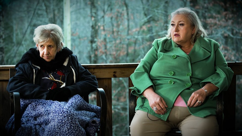 When Lottie Crouch (left) had a stroke in August 2019, her daughter, Debbie Cook (right), knew...