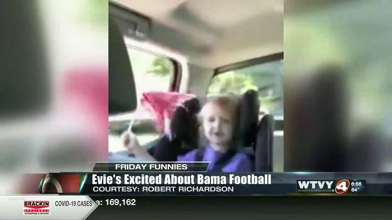 Friday Funnies: Evie's Enthusiasm