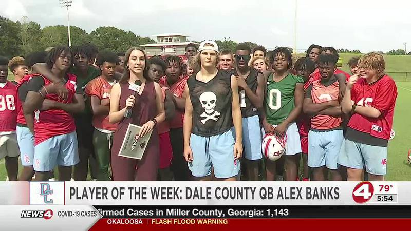 Friday Night Football Player of the Week: Dale County QB Alex Banks