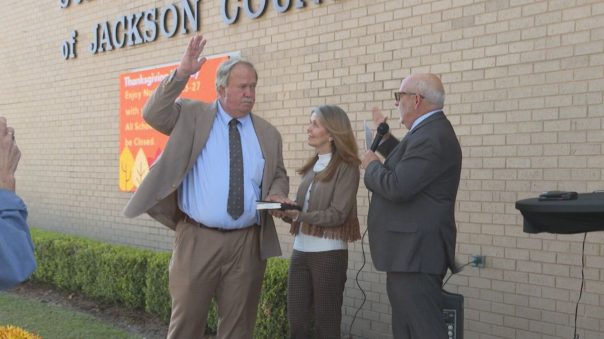 Steve Benton says he is very pleased to be back and honored to serve the people of Jackson...