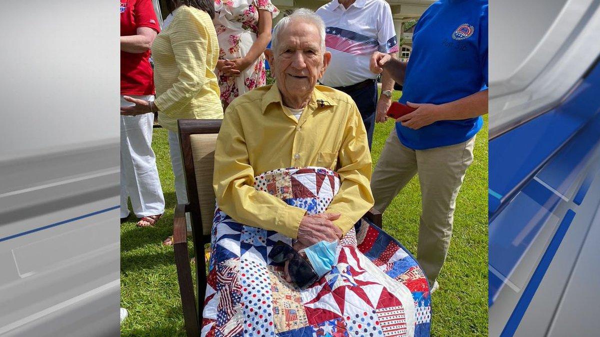 Alabama veteran celebrates 100th birthday with parade