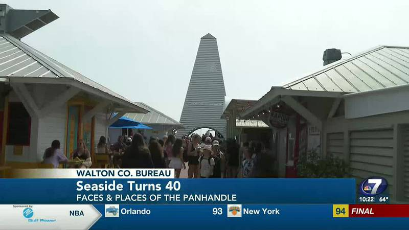 In South Walton -- Seaside-- turns 40 this year. In this week's Faces and Places of the...