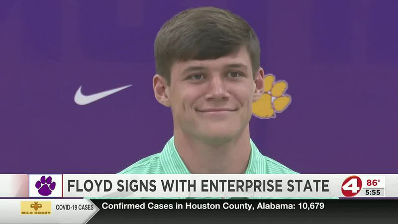 On the dotted line: Ariton's Hayes Floyd signs with Enterprise State