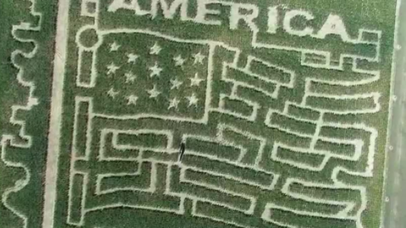 America The Beautiful Maze