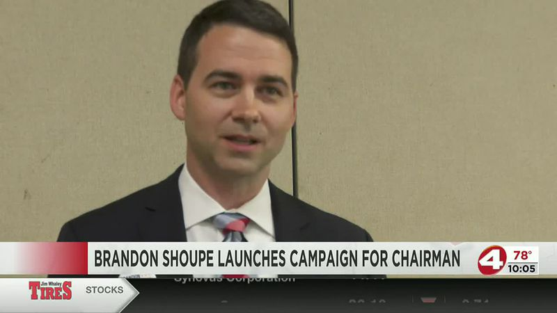 Brandon Shoupe formally announces his candidacy for Houston County Chairman on June 17, 2021.