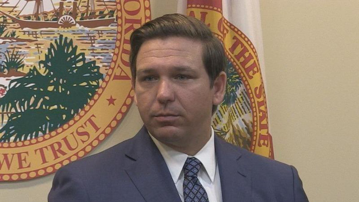 Florida Governor Ron DeSantis has directed for state law enforcement agencies to send...