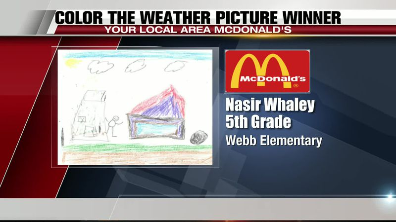 Color the Weather Winner 7/15