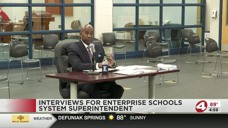 EBOE wraps up interviews in their search for a new superintendent of ECS.