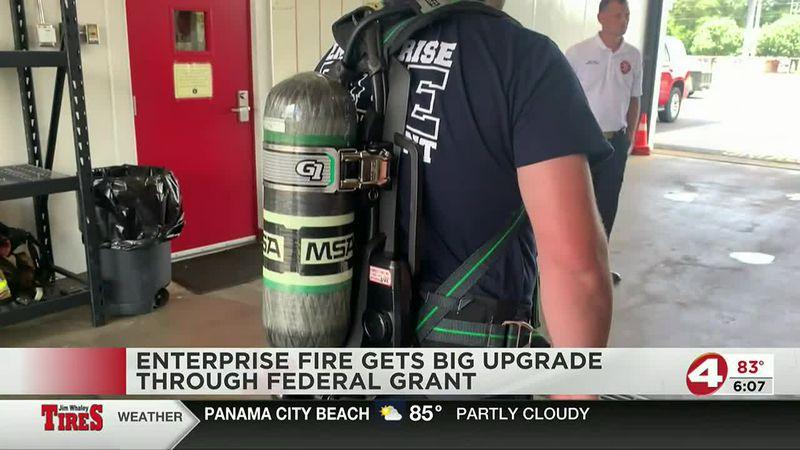 EFD gets new equipment