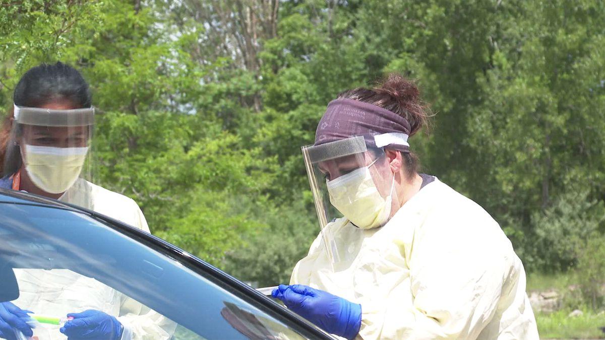 Coronavirus testing-File photo