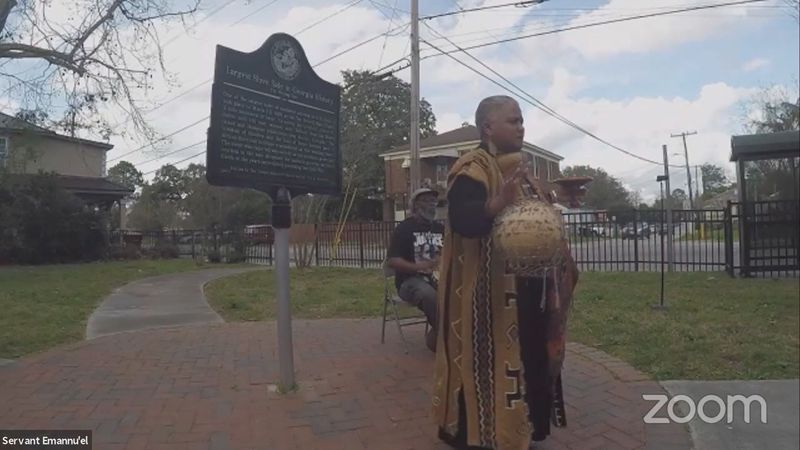 It's a dark, but meaningful point in Southeast Georgia's history — The Weeping Time. It was a...