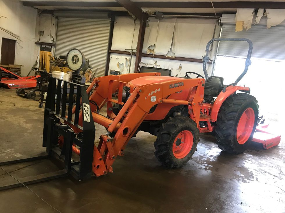 Midland City Police are investigating the theft of a tractor over the weekend.