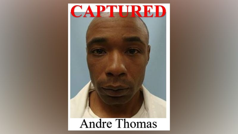 Atlanta fugitive Andre Thomas was arrested on Friday night, according to a statement released...