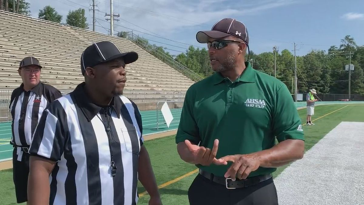 AHSAA football will kick off the season in a few days and one of the biggest concerns the AHSAA is facing, as we approach the season, is the lack of officials.