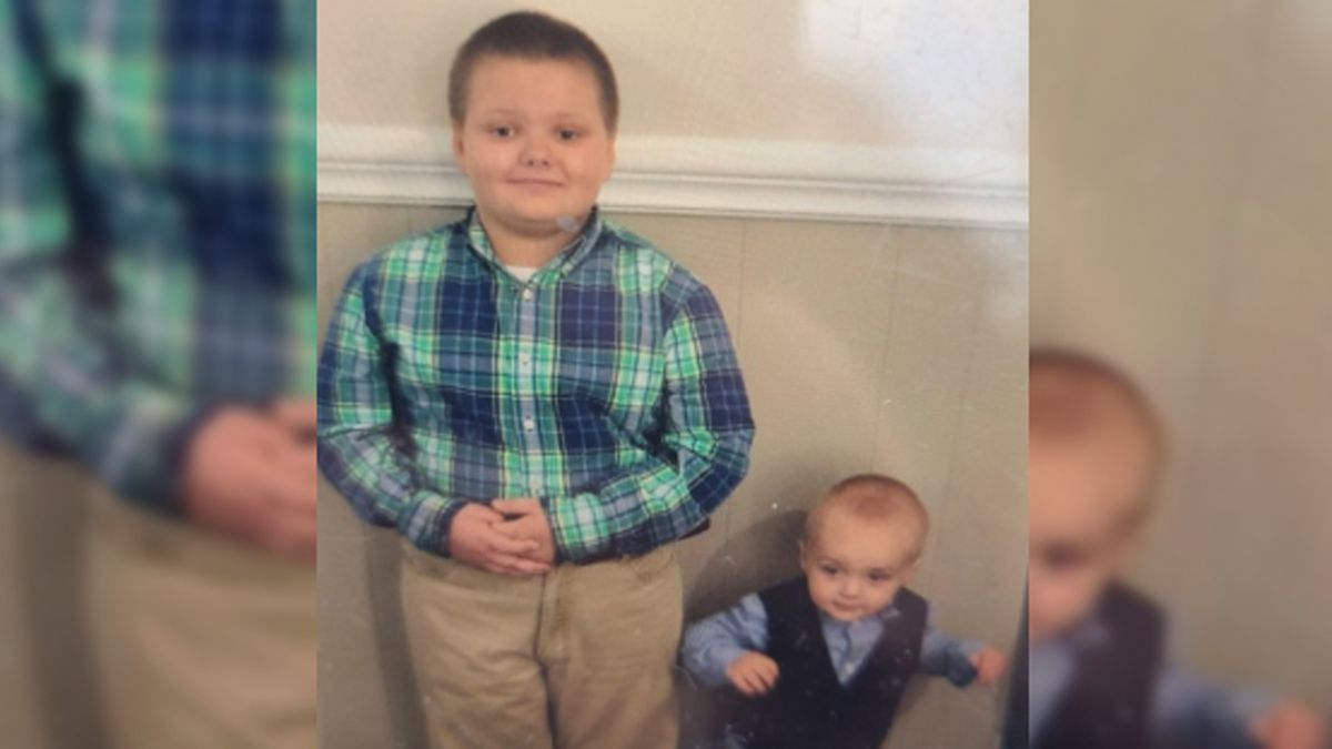 An Amber Alert was issued for Kaiden and Kolden Wall.
