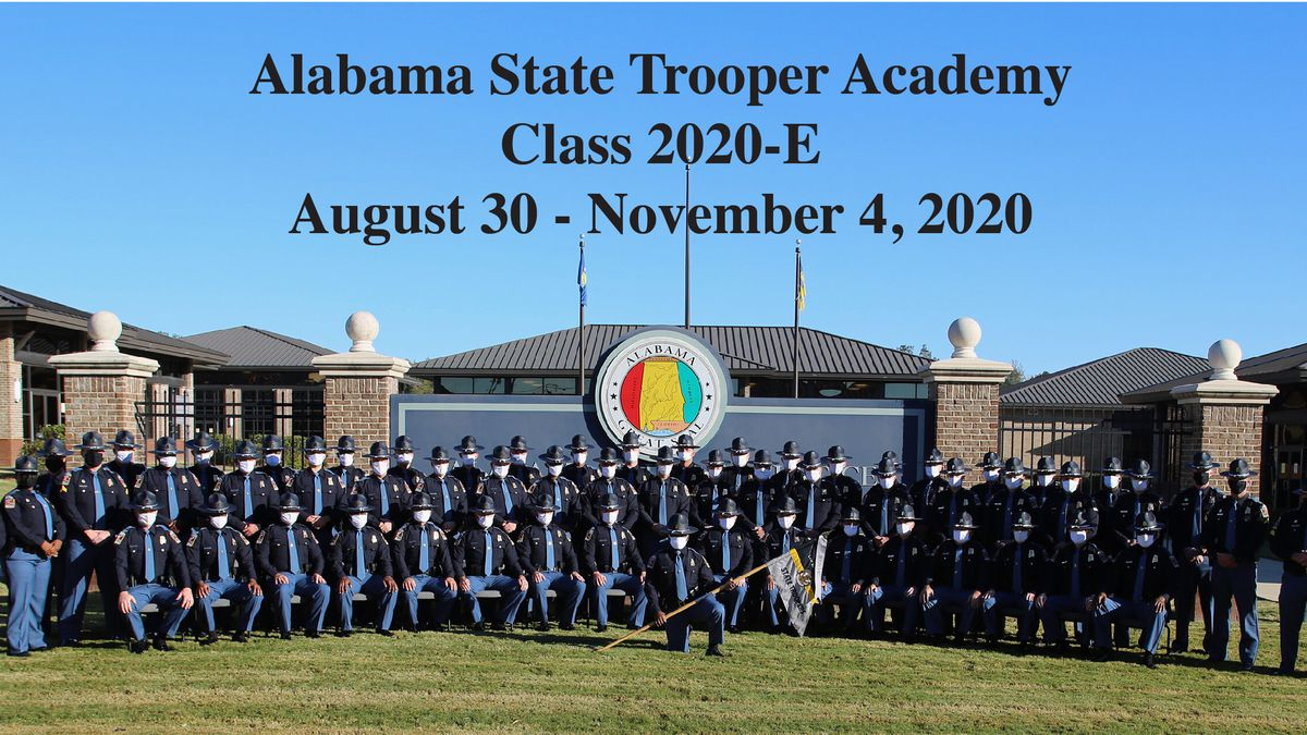 The Alabama Law Enforcement Agency graduated 52 new ALEA Troopers Wednesday during a ceremony...