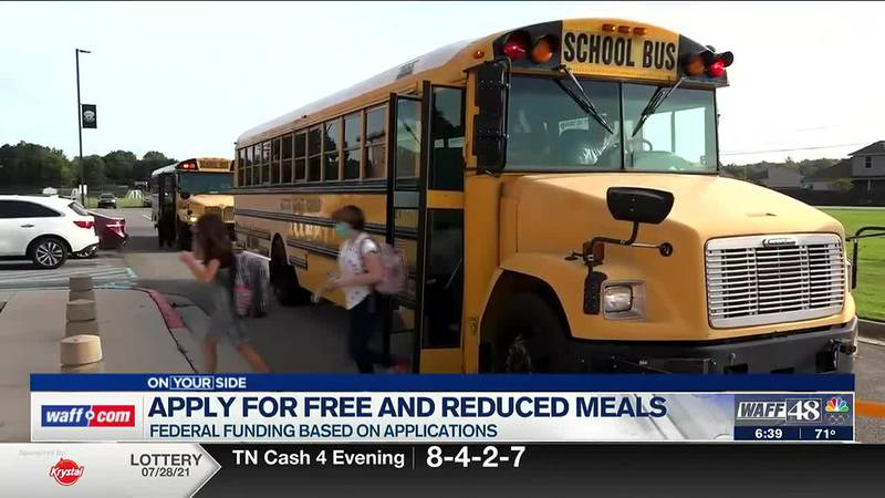 Madison County Schools urging families to apply for free and reduced meals