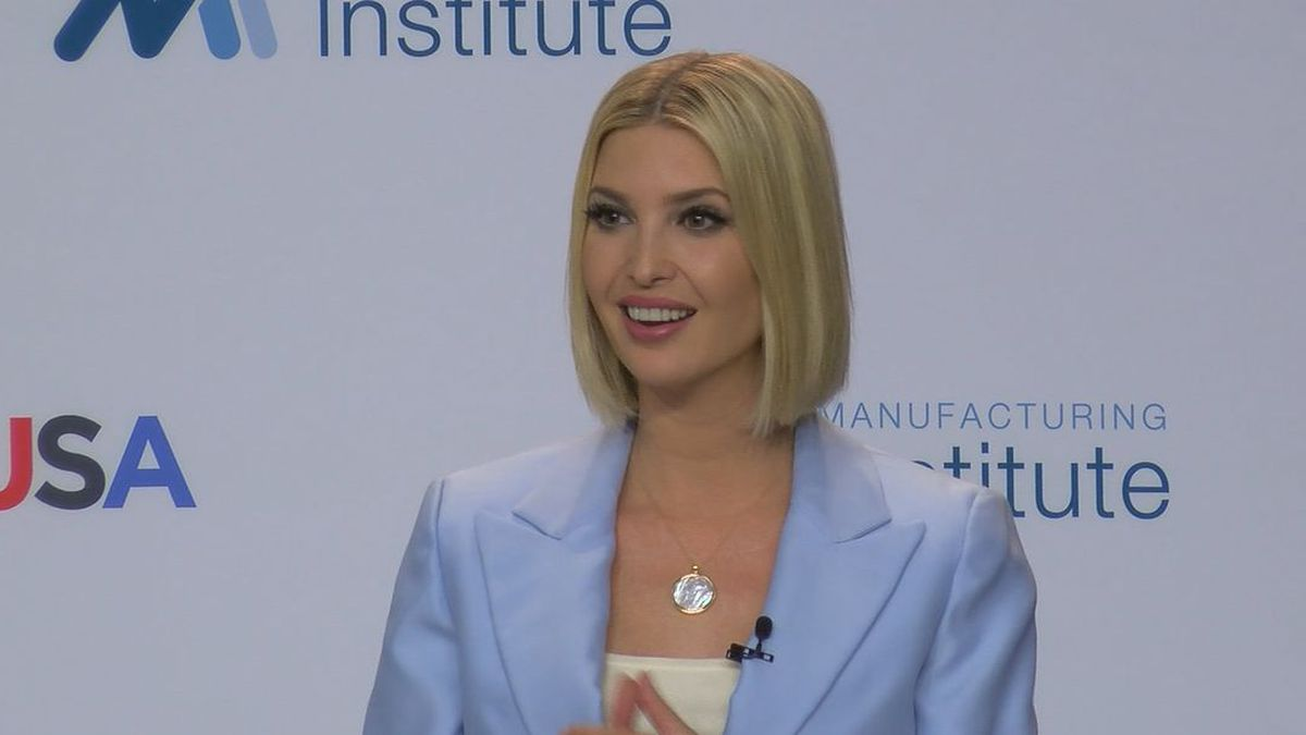 Ivanka Trump stopped by the Alabama Robotics Technology Center in Decatur Tuesday to help launch an initiative to help increase skilled technicians in Alabama and the rest of the country. (Source: WAFF)