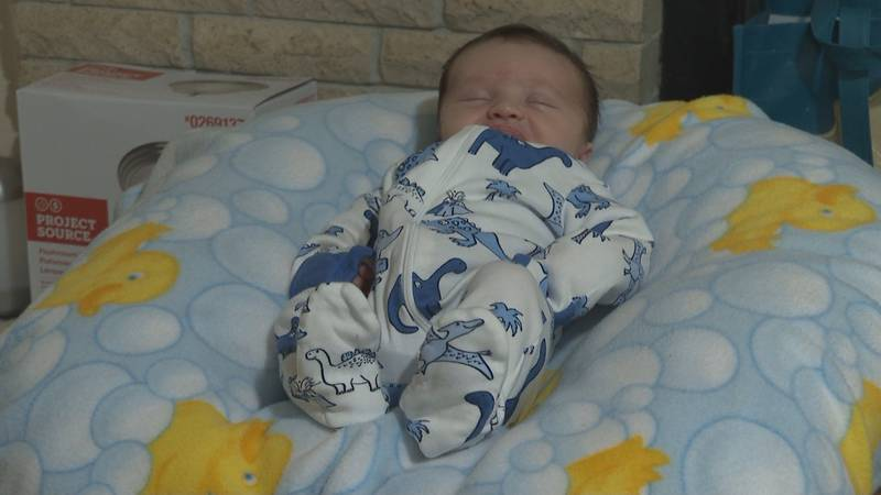 A Gadsden County couple gave birth to a healthy baby boy after adopting an embryo that had been...