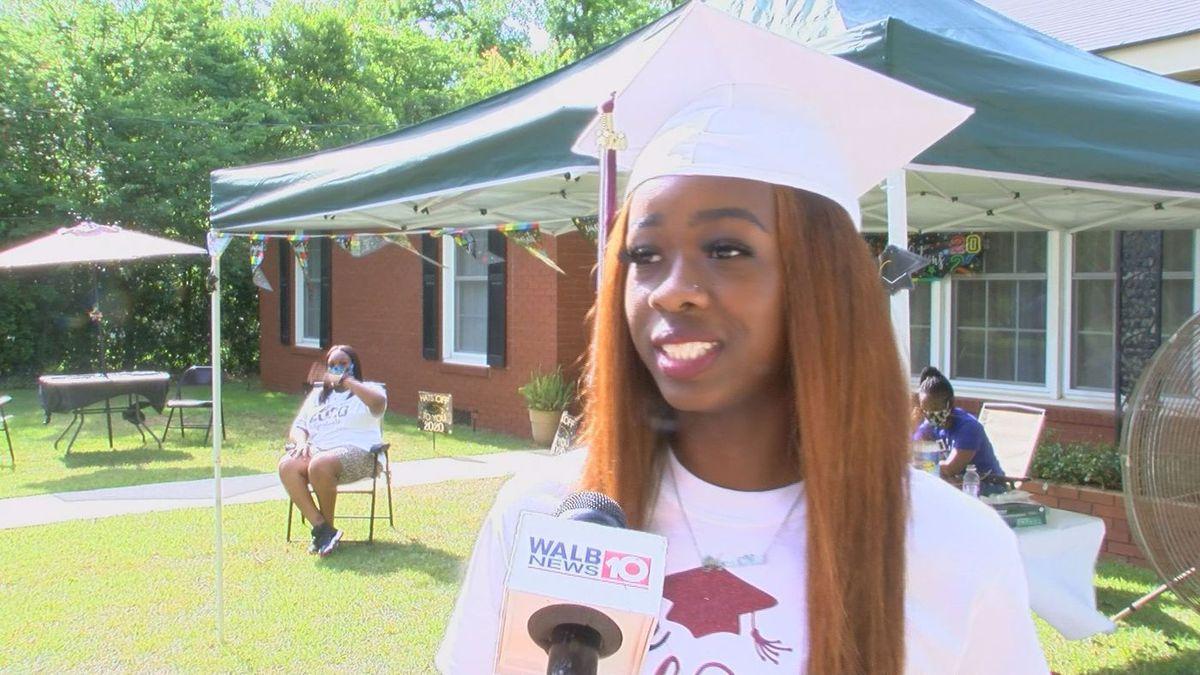Graduating senior Ka'Mayah St. Rose (Source: WALB)