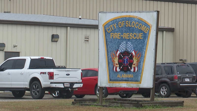 Slocomb Fire-Rescue sees increase in calls for the year of 2020.