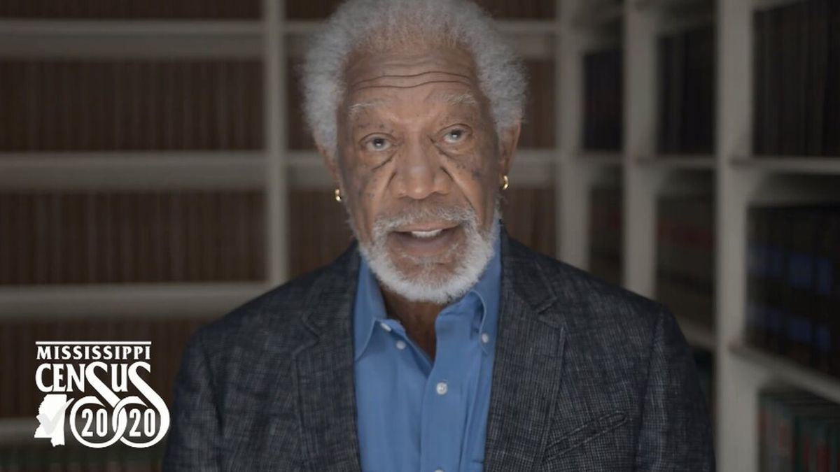 Morgan Freeman Reminds Mississippians To Take 2020 Census