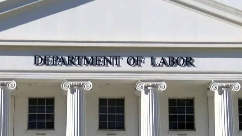 The Alabama Department of Labor said they are still working through a high volume of...