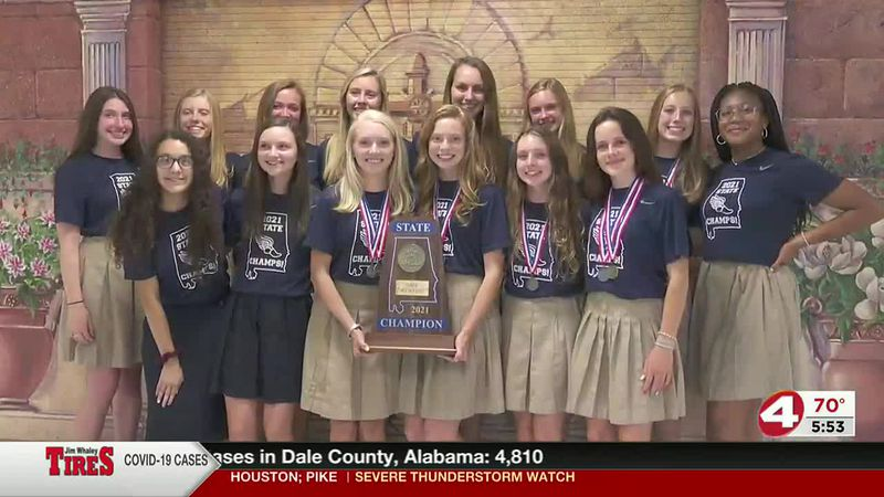 """PCS Girls Track and Field team completes the """"Triple Crown"""""""