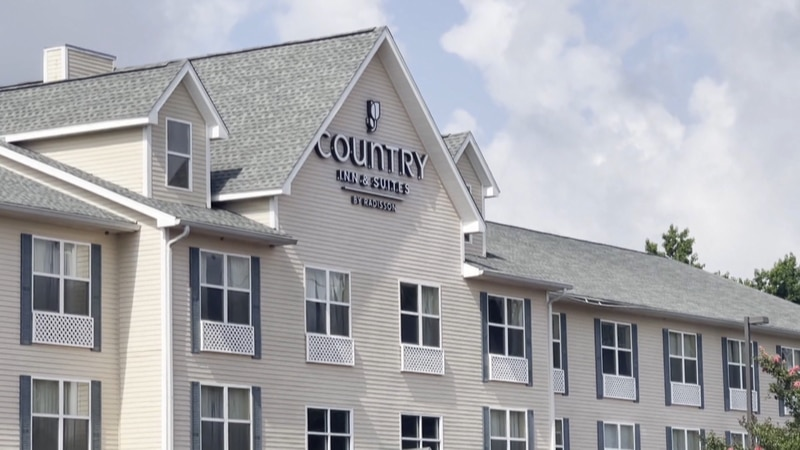 Hotel guests test positive for COVID-19. The hotel shut their doors on Thursday due to a...