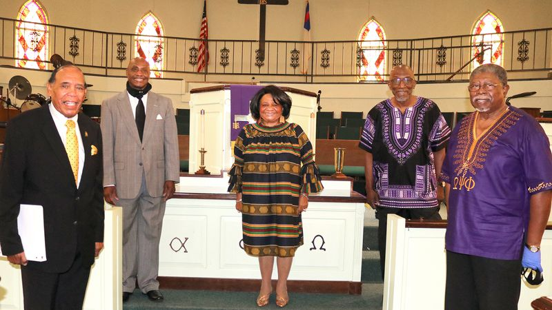 "Johns Chapel AME Church honored several people who achieved ""first"" milestones in Enterprise."