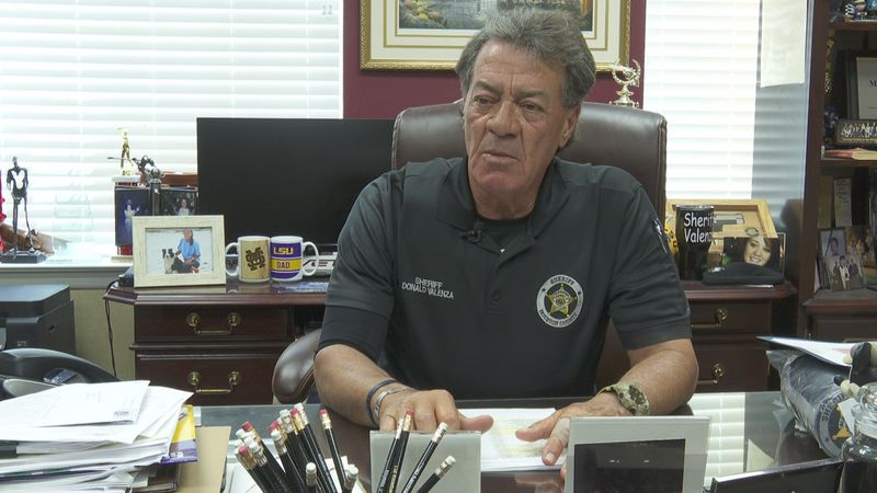 Houston County Sheriff Donald Valenza discusses jail overcrowding on May 14, 2021.