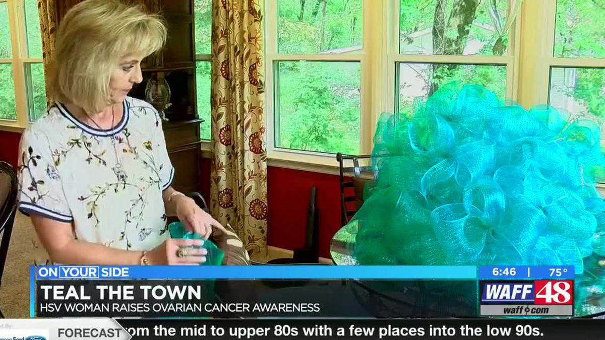Huntsville woman makes bows to raise awareness for ovarian cancer