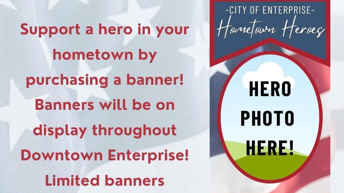 Hometown Hero Banner Flyer