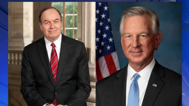 U.S. Senators Richard Shelby and Tommy Tuberville