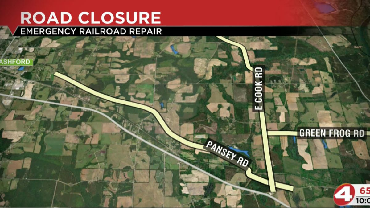 CSX Transportation will be closing East Cook Road on Monday, March 15th at approximately 8 a.m....