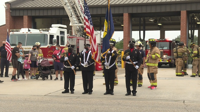 To honor the nearly 3,000 victim's lives lost, the Fort Rucker Fire Department invited the...