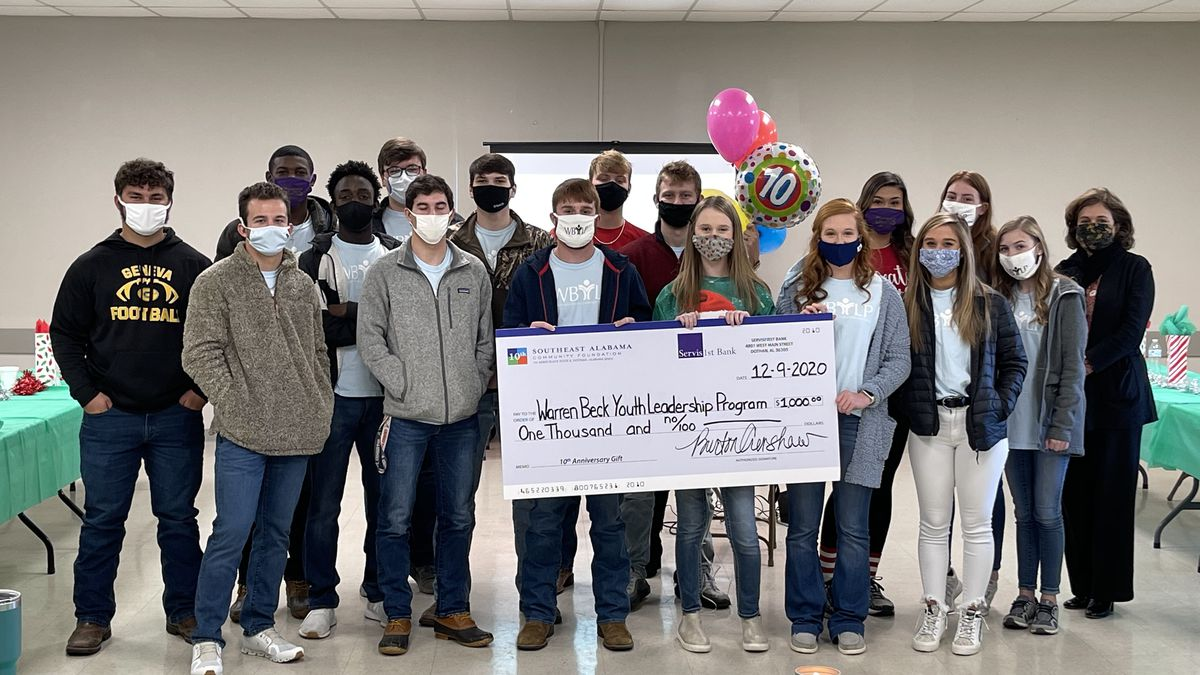 The Warren Beck Youth Leadership Program in Geneva got a surprise $1,000 from the Southeast...