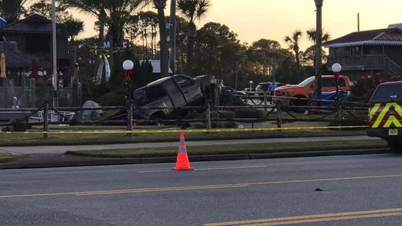 Two children died after a vehicle ran into a Panama City Beach mini-golf course on Front Beach...