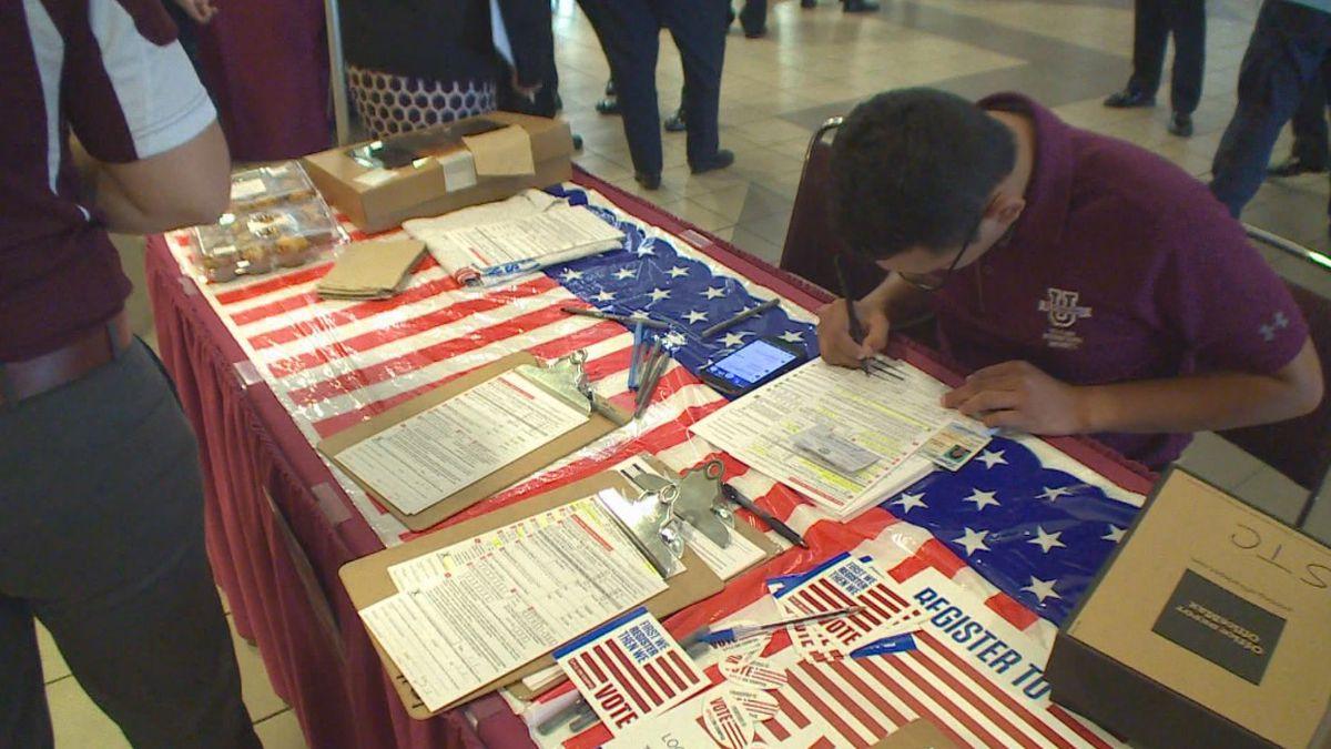 File photo: TAMIU holds National Voter Registration Day event