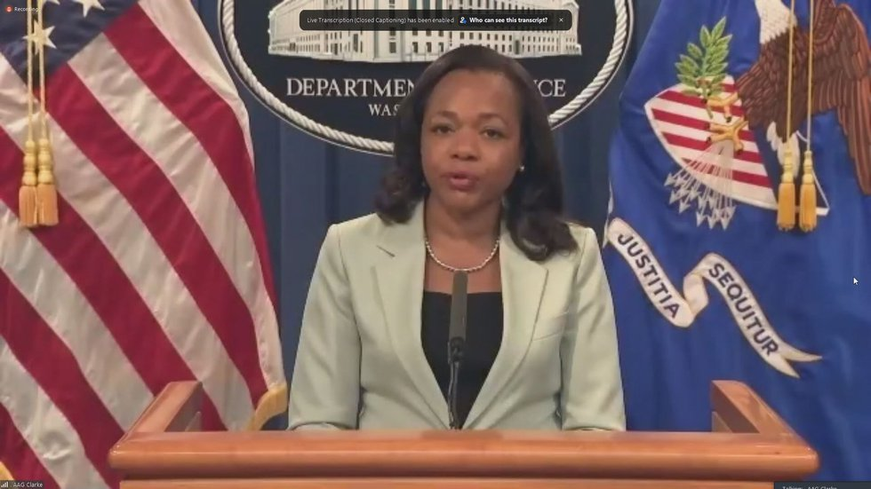 Assistant Attorney General Kristen Clarke is with the DOJ's Civil Rights Division.
