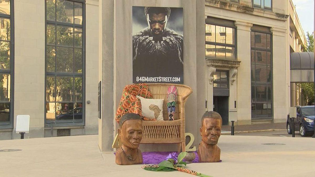 Montgomery vigil for Chadwick Boseman