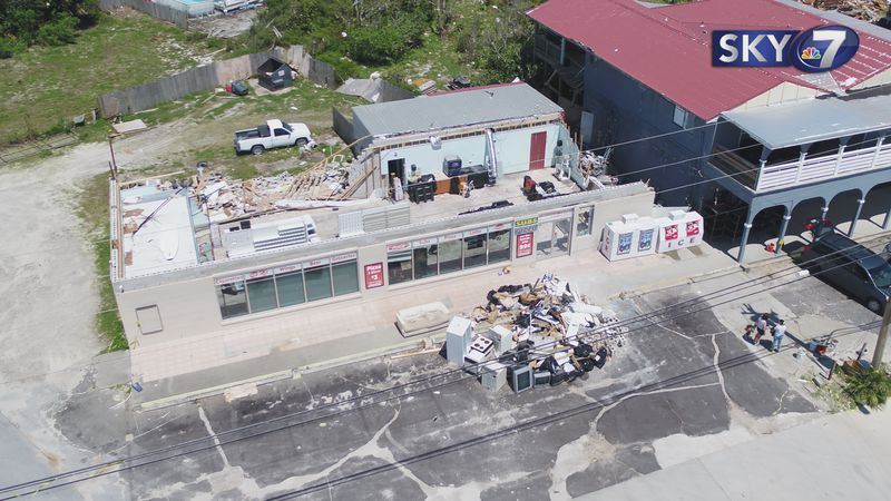 Damaging winds, heavy rain, and three tornadoes blew through Bay County over the weekend.
