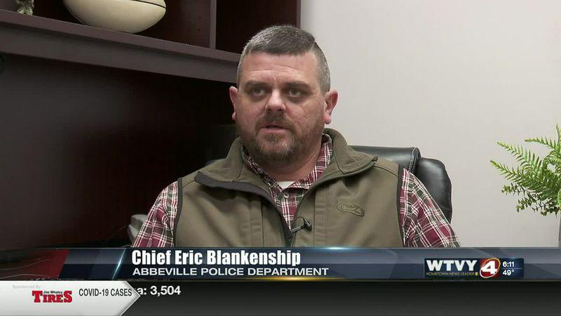 Eric Blankenship on new position