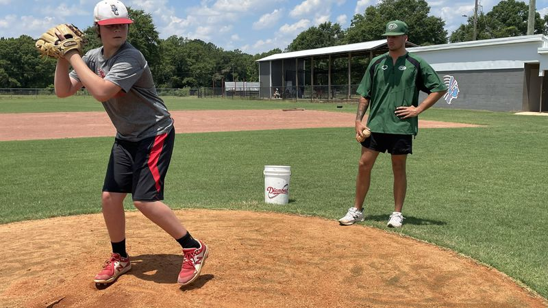 Fresh off a national title, Friesen working with new wave of Dale County pitchers