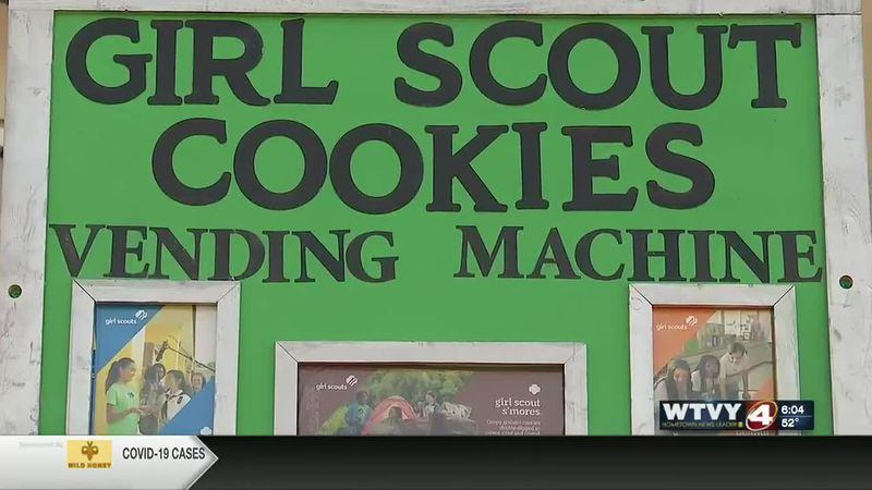 Local Girl Scout creates vending machine for COVID
