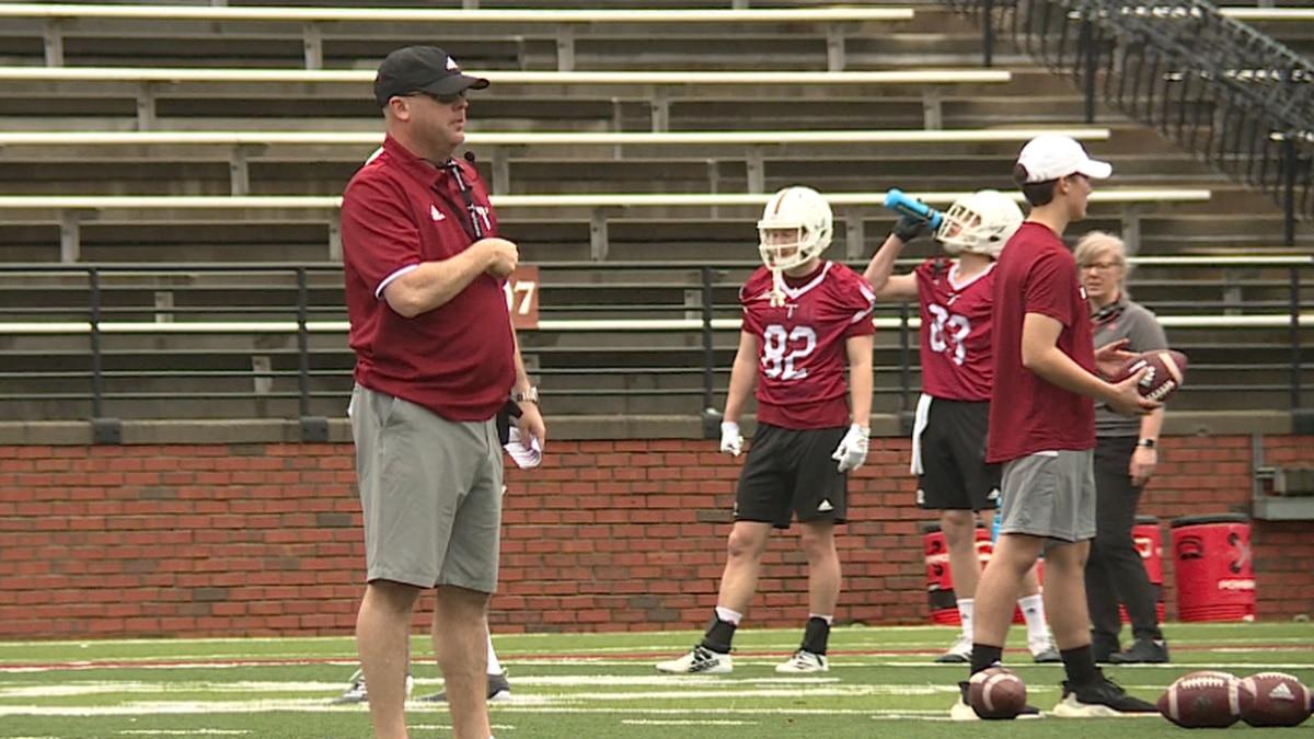Troy University head football coach Chip Lindsey