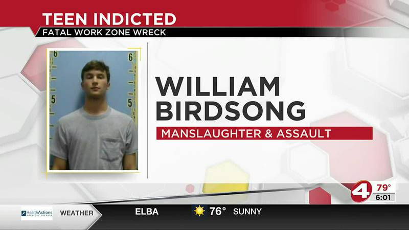 Hartford teen indicted in deadly construction zone crash