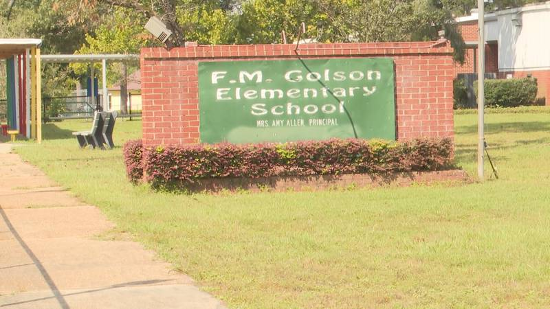 Jackson Hospital was given the Golson Elementary School property by the Jackson County School...